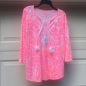 Lilly Pulitzer Tunic Top L